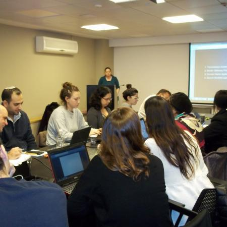 photo taken in course: Between Cyber Wars and Internet Governance